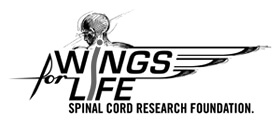 Sam Bloom supports Wings for Life