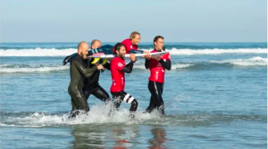 Sam Bloom World Adaptive Surfing Championships